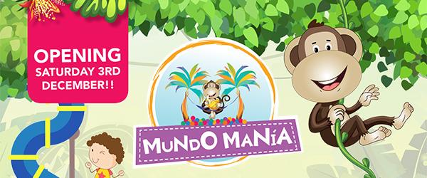 Mundo Mania opens its doors!