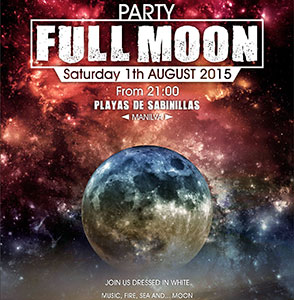 Manilva Full Moon Party