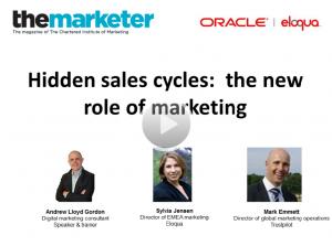 marketer hidden sales cycle