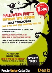 Dealz Halloween poster LR
