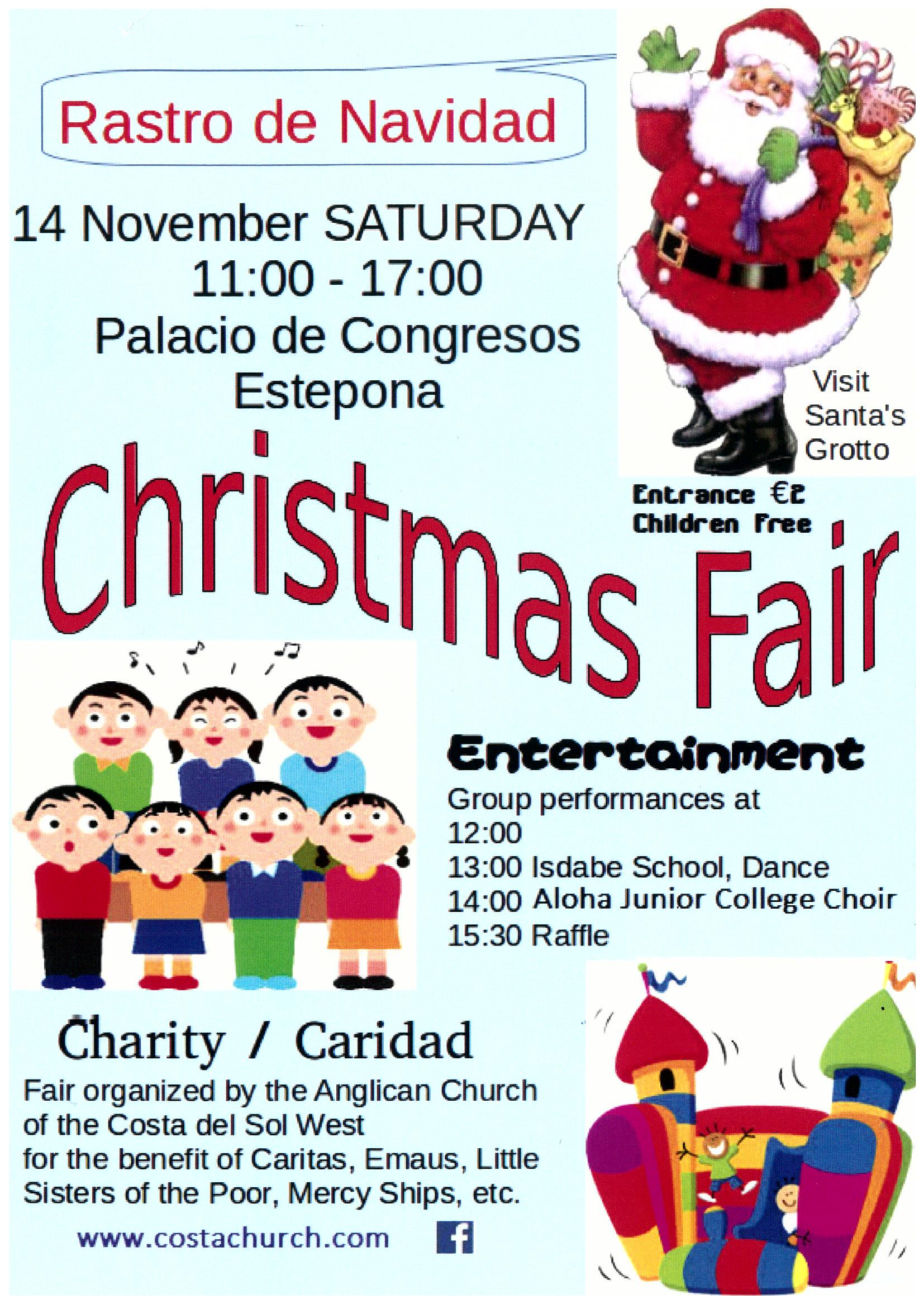 Estepona Charity Christmas Fair 14/11
