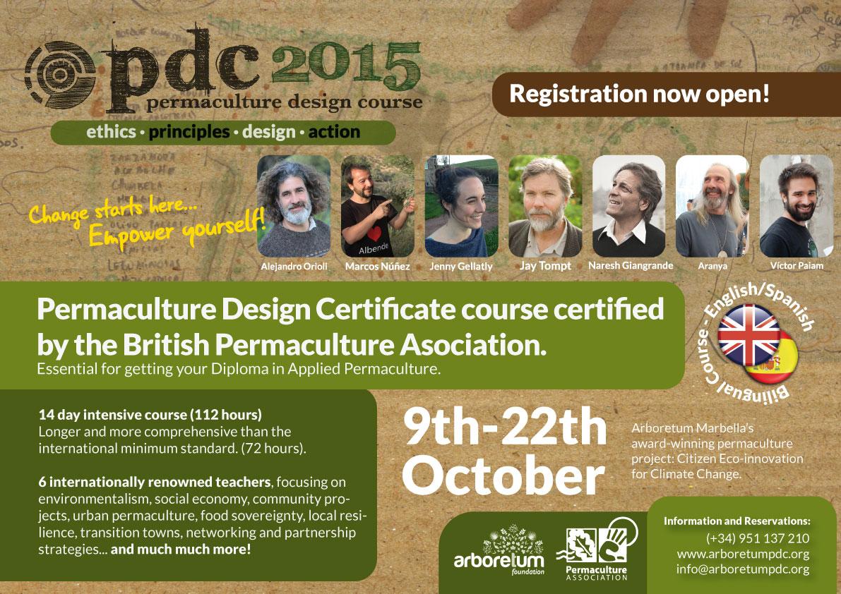 Arboretum Marbella Permaculture Design Course 2015