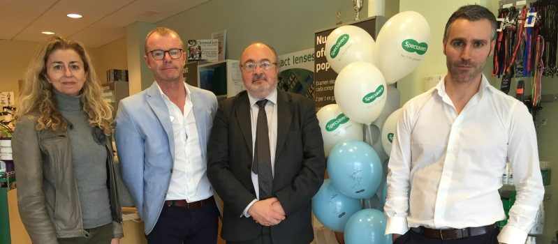 ALCER visit Specsavers for World Kidney Day