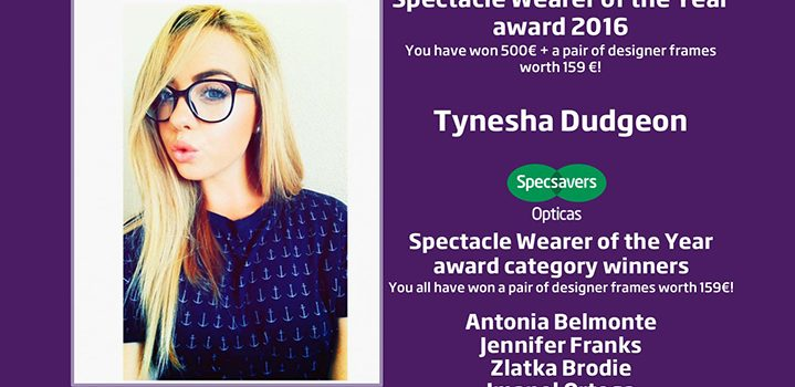 Spectacle Wearer of the Year Competition Announced
