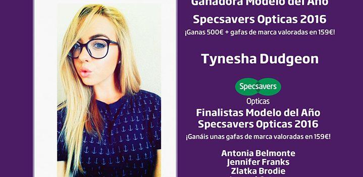 Specsavers anuncia los ganadores de su concurso Modelo del año 2016