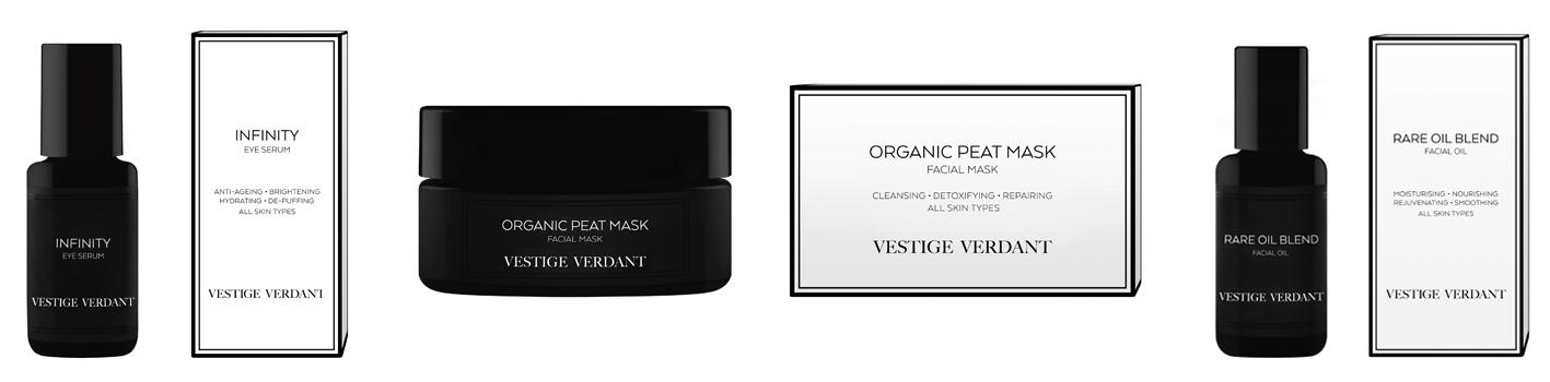 The Vestige Verdant Luxury Organic Skincare Range | La colección de cosmética natural de Vestige Verdant