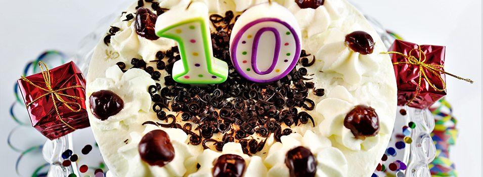 Décimo aniversario de Shaw Marketing Services