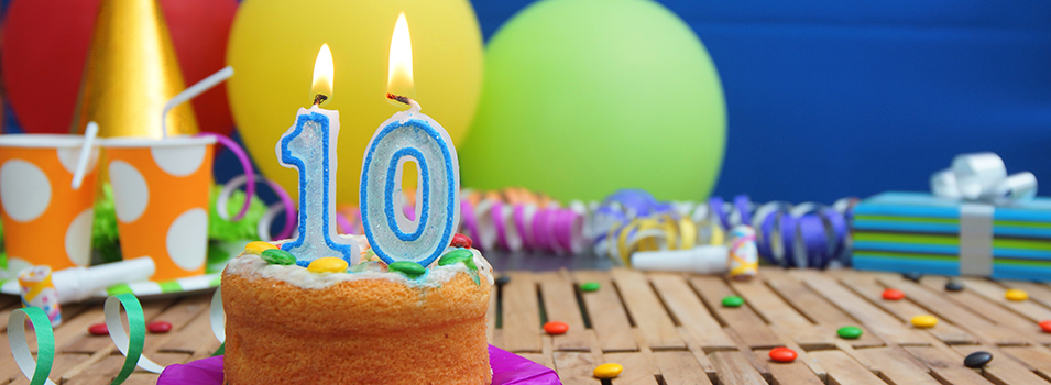Happy 10th Birthday Shaw Marketing Services