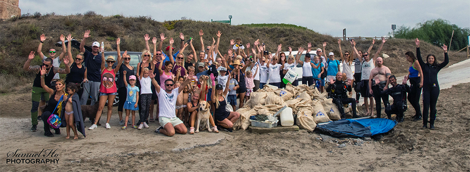 Plastic Free Seas Worldwide fundraising and beach clean activities