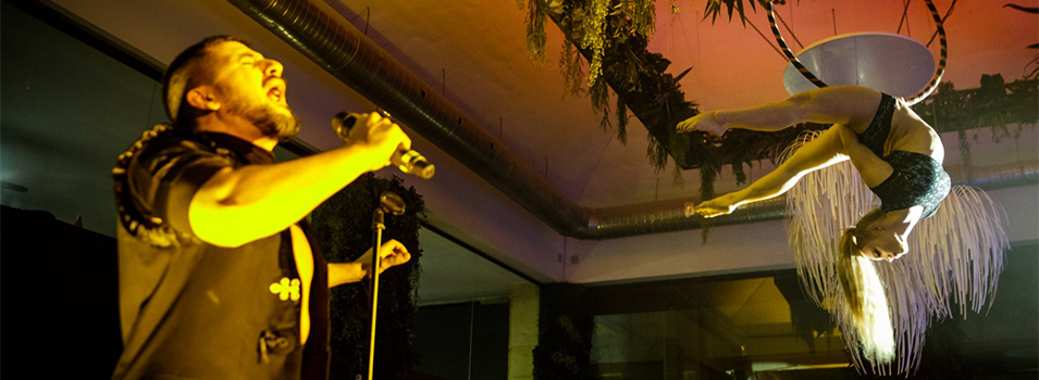 Alex Forriols from La Voz shines in new Marbella show