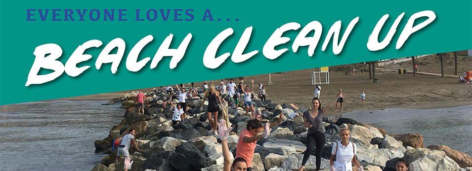 Plastic Free Seas and Specsavers Opticas Fuengirola Beach Clean Up