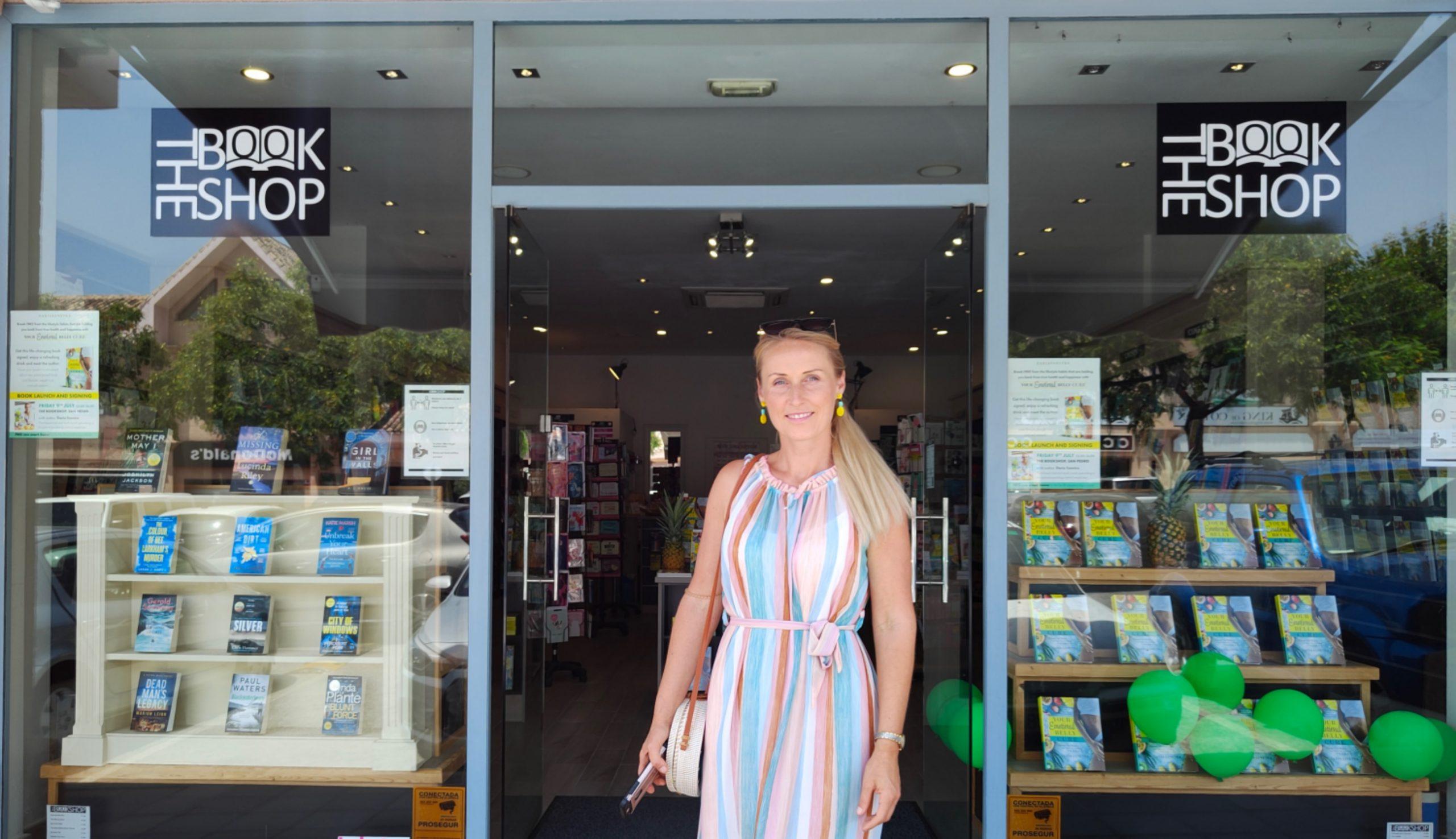 Daria Sanetra book launch The Bookshop